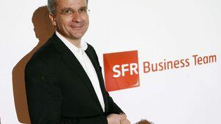 Le patron de SFR, Franck Esser, à Paris le 21 janvier 2010. (MEIGNEUX / SIPA)