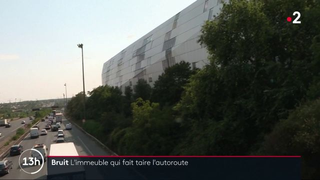 Nuisances sonores : un immeuble antibruit faire taire une autoroute