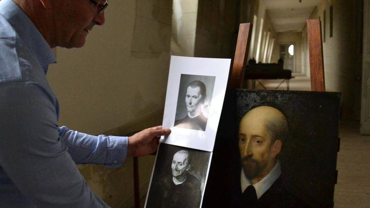 Le tableau trouvé au château de Valençay (Indre) pourrait être une oeuvre de Léonard de Vinci. (MAXPPP)