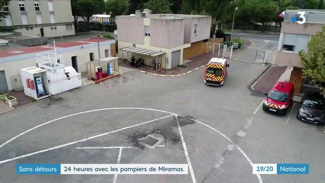 Sans détours : 24 heures en compagnie des pompiers de Miramas
