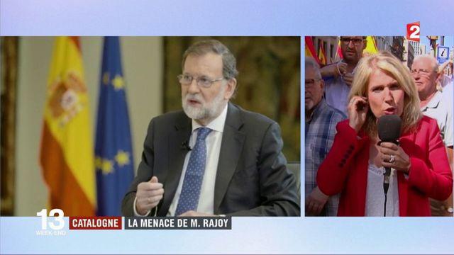 Espagne : Rajoy prêt à suspendre l'autonomie de la Catalgone