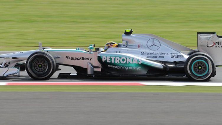 Lewis Hamilton (Mercedes) (ANDREW YATES / AFP)