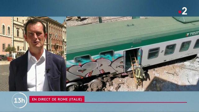 Italie : le conducteur en pause, un train repart tout seul