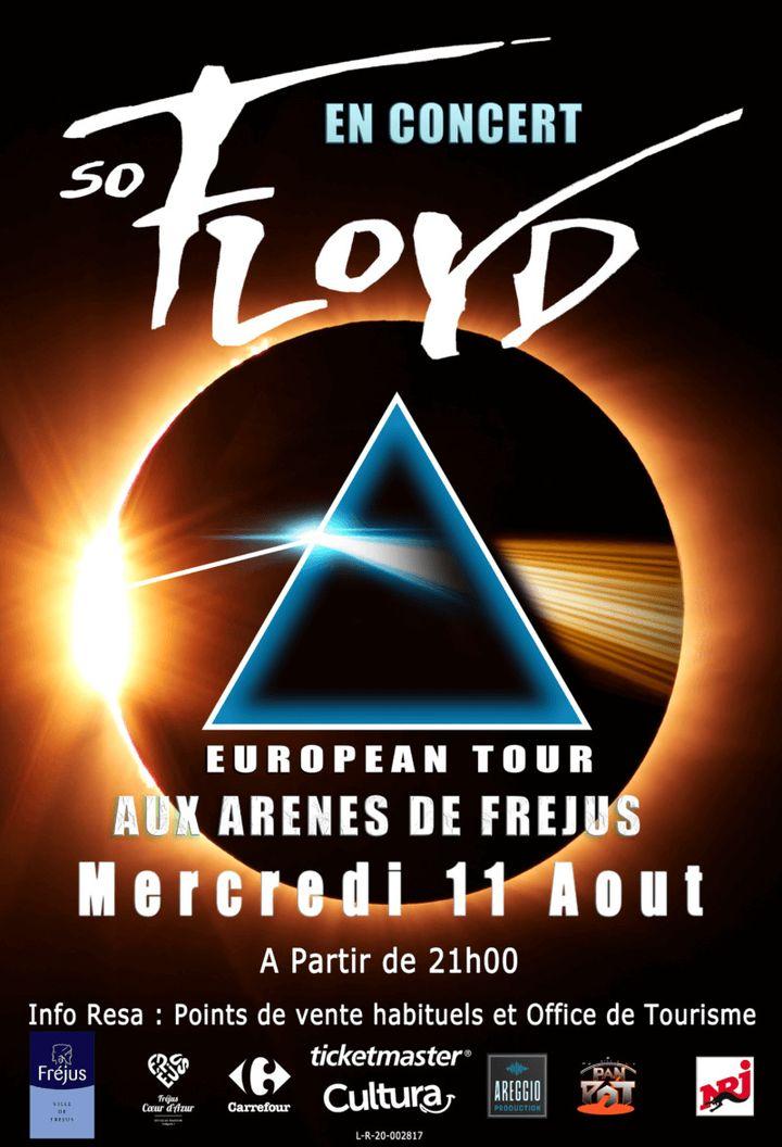 L'affiche du concert So Floyd (Ville de Fréjus)