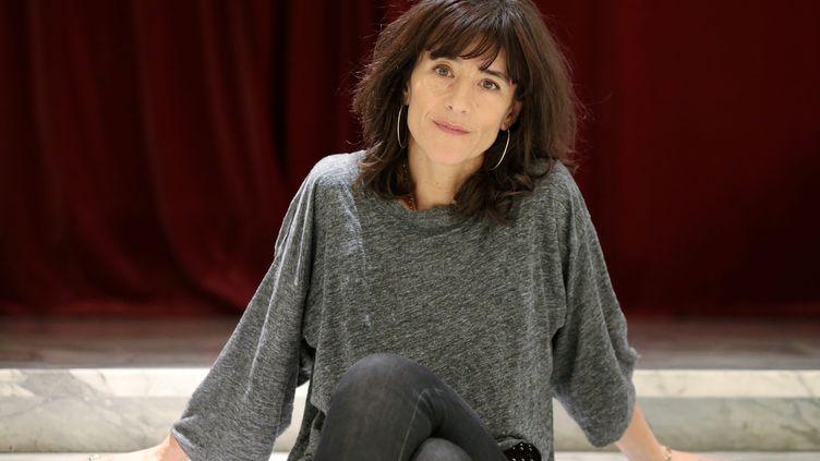 Romane Bohringer, en tournée, avec la pièce L'occupation (FRANCK FERNANDES / MAXPPP)