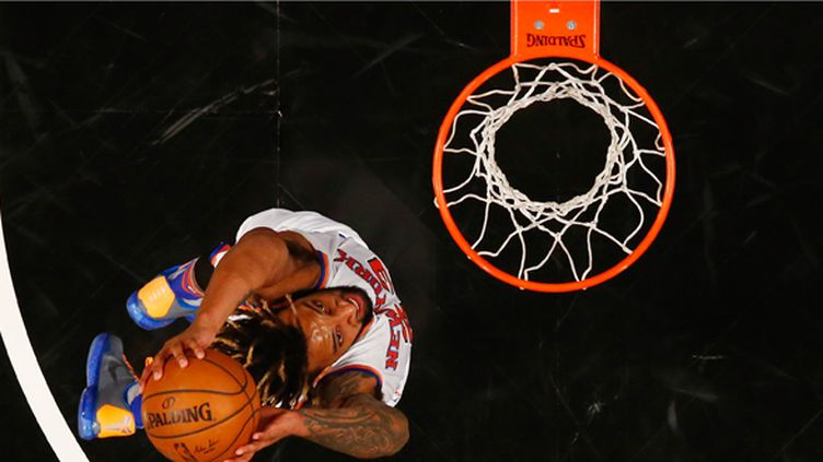 Derrick Williams au dunk (AL BELLO / GETTY IMAGES NORTH AMERICA)