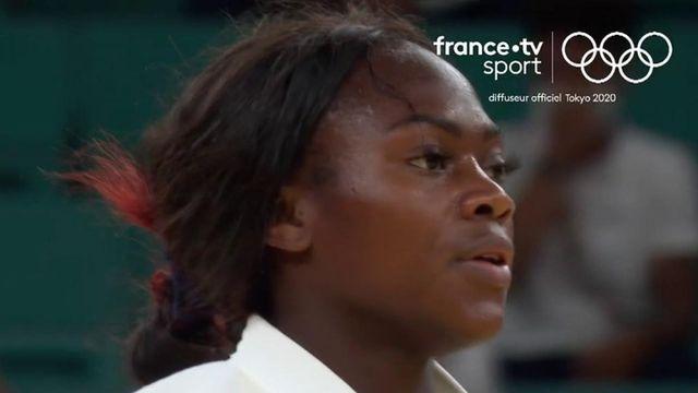 Judo (F) : la demi-finale de Clarisse Agbégnénou