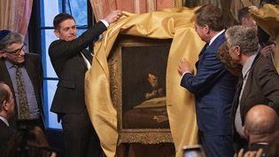 Le tableau du maître hollandais Salomon Koninck, spolié par les nazis pendant la guerre, restitué le 1er avril 2019 aux descendants du collectionneur d'art Adolph Schloss