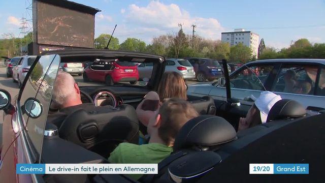 Cinéma drive-in à Offenbourg