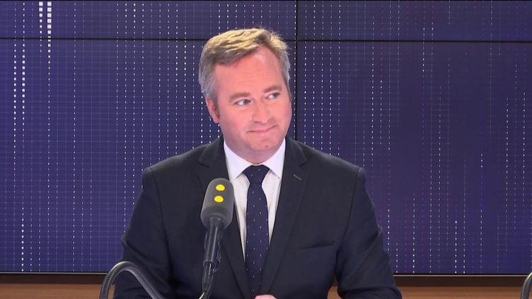 Jean-Baptiste Lemoyne, secrétaire d'Etat auprès du ministre de l'Europe et des Affaires Étrangères, le 10 mai 2019 sur franceinfo. (FRANCEINFO / RADIOFRANCE)