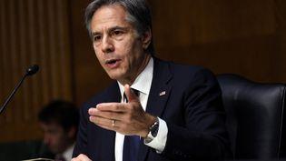 Anthony Blinken, le chef de la diplomatie américaine, le 8 juin 2021 à Washington (Etats-Unis). (KEVIN DIETSCH / GETTY IMAGES NORTH AMERICA)