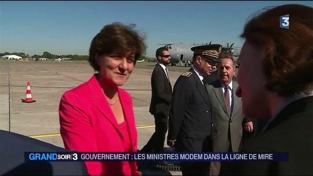 Gouvernement : les ministres MoDem dans la ligne de mire