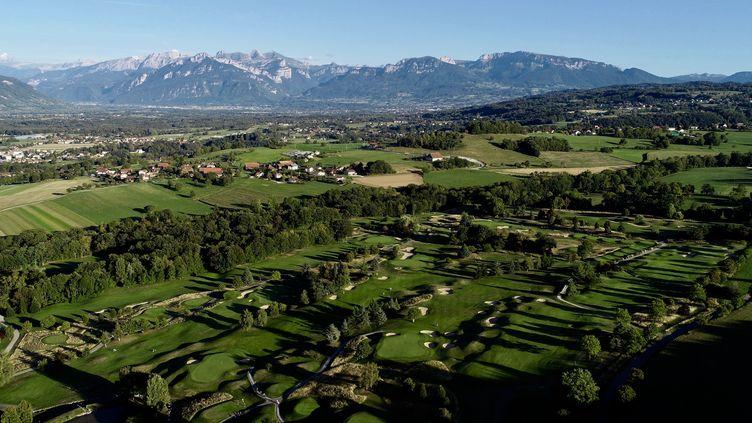 Le Golf d'Esery aux portes de Genève prétend au Label Argent dans le programme en faveur de la biodiversité. (Olivier Rithauser)