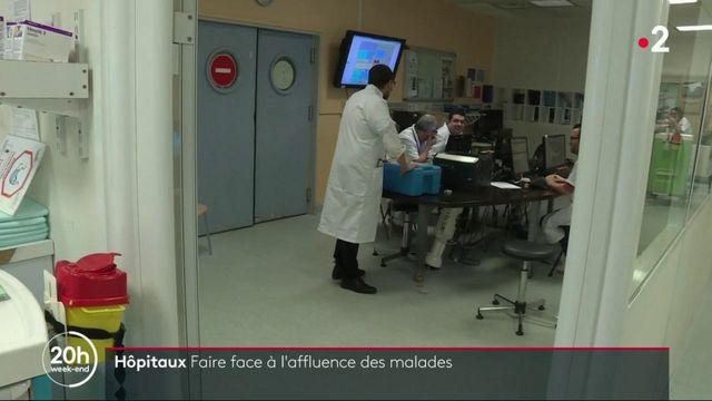 Hôpitaux : comment gérer l'affluence des malades ?