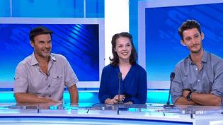 """François Ozon, Paula Beer et Pierre Niney invités sur la plateau de France 3 Nancy pour présenter """"Frantz""""  (France 3 / Culturebox)"""