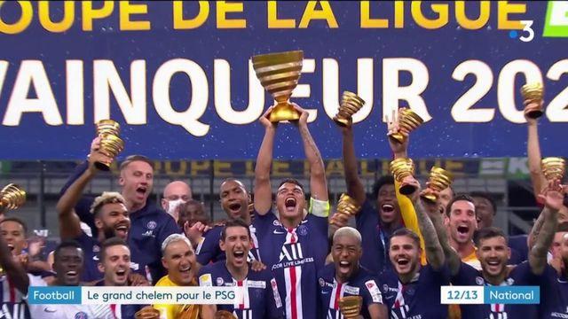 Football : le grand chelem pour le PSG