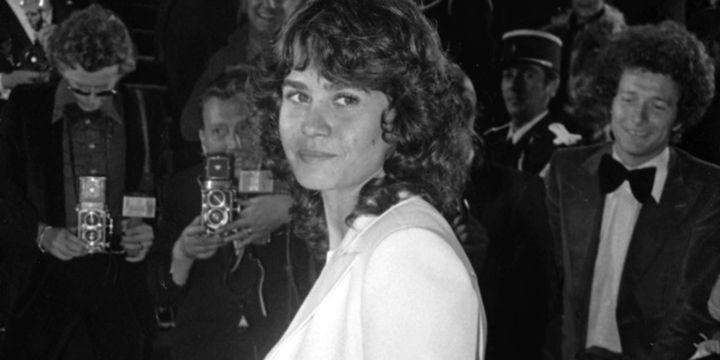 L'actrice Maria Schneider au festival de Cannes en 1975  ( Anonymous/AP/SIPA)