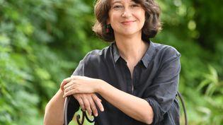 L'écrivaine Muriel Barbery (© Boyan Topaloff)