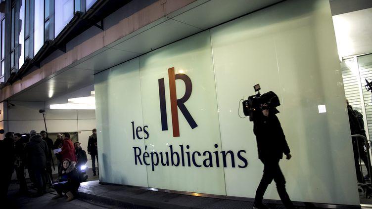 La vente doit permettre d'éponger une partie de la dette du parti politique, situé rue de Vaugirard à Paris. (VINCENT ISORE / MAXPPP)
