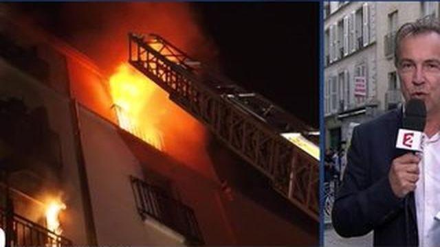 Incendie meurtrier à Paris : un homme actuellement interrogé