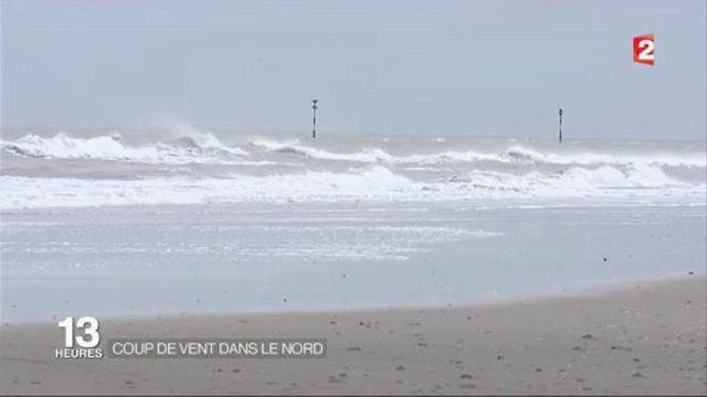 Météo : le nord de la France en alerte orange aux vents violents
