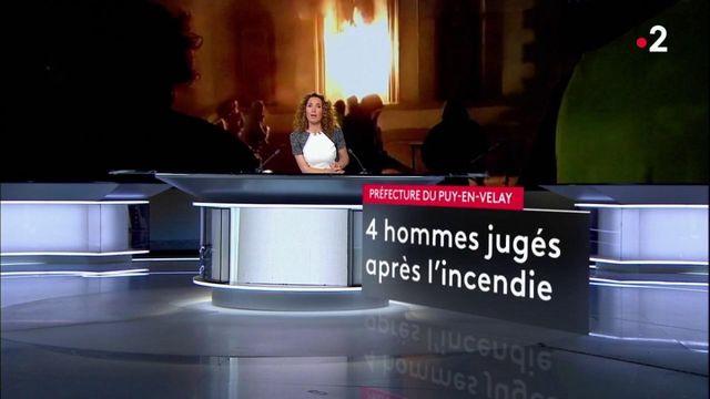 Gilets jaunes : ouverture du procès procès de l'incendie de la préfecture du Puy-en-Velay