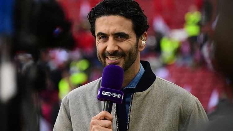 Alexandre Ruiz sur BeIN Sports, en février 2019. (GABRIEL BOUYS / AFP)
