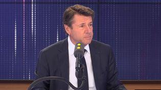 """Christian Estrosi, maireLR de Nice (Alpes-Maritimes),était l'invité du """"8h30 franceinfo"""", le 12 novembre 2019. (FRANCEINFO / RADIOFRANCE)"""