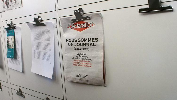 """Journée portes ouvertes à """"Libération"""", le 15 mars 2014, en pleine crise financière. (MAXPPP)"""