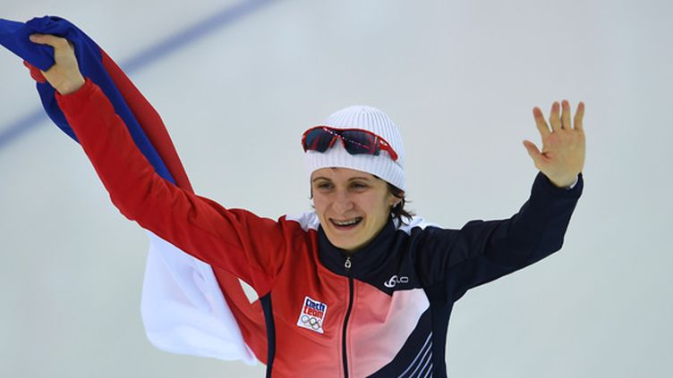 Martina Sablikova.  (DAMIEN MEYER / AFP)