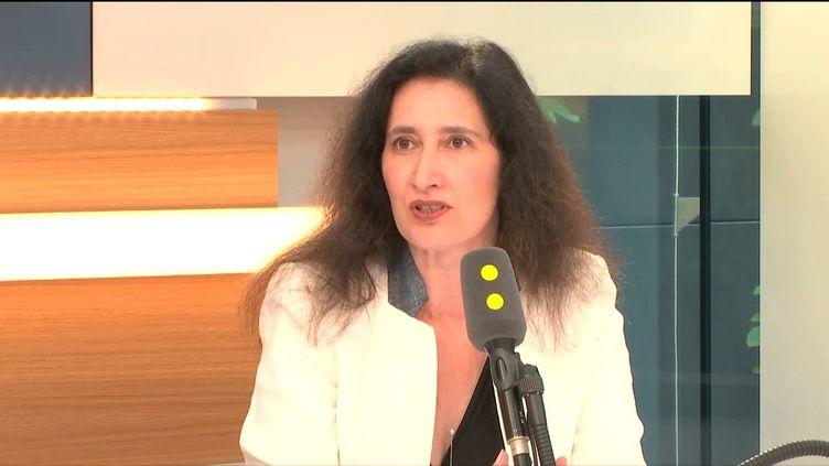 La présidente de l'Autorité de la concurrence, Isabelle de Silva, le 22 juin 2017. (FRANCEINFO / RADIOFRANCE)