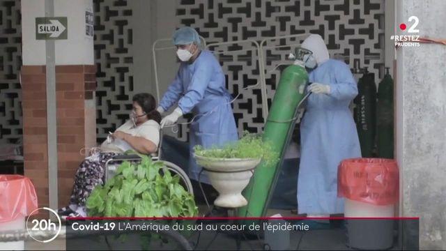 Amérique latine : l'épidémie de coronavirus gagne du terrain