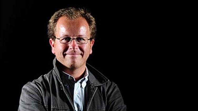 Le skipper Pierre-Yves Lautrou (MARTIN BUREAU / AFP)