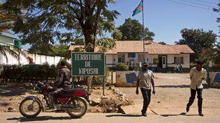 La ville minière de Kipushi, située à proximité d'une zone désertique de la province du Haut-Katanga, où plus de 2000 enfants ontété recensés dans les différentes carrières du territoire. (JUNIOR KANNAH / AFP)