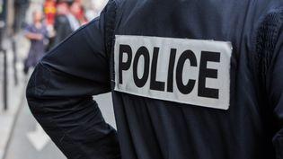 La police en intervention à Paris. (ALEXIS SCIARD  / MAXPPP)