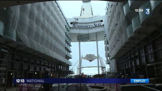 Les chantiers navals STX de Saint-Nazaire recrutent
