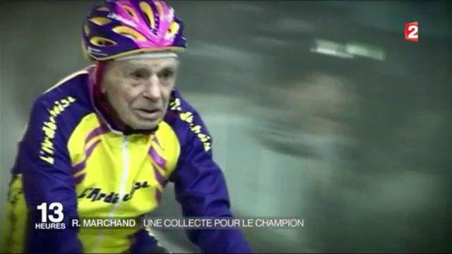 Robert Marchand : un collecte pour le champion de 105 ans