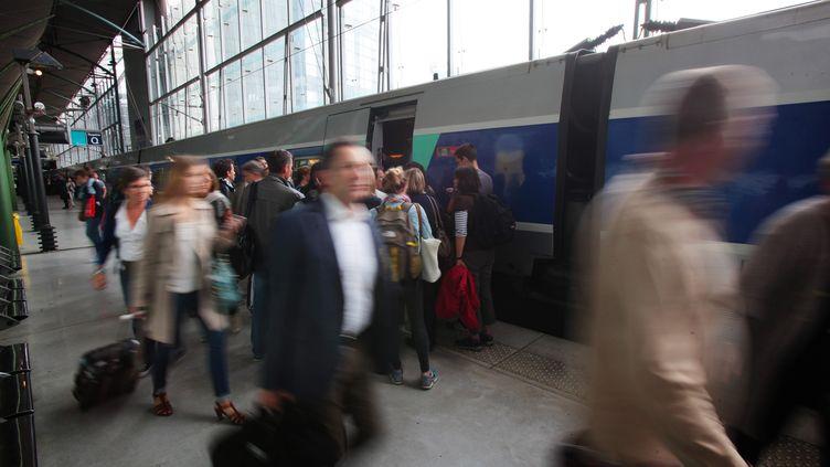 La gare de Lille Europe (Nord). (MAXPPP)