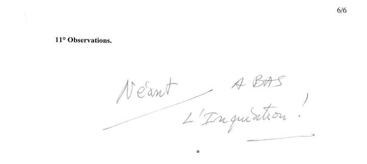 Un extrait de la déclaration d'intérêts du député UMP Jacques Myard, publiée le 24 juillet 2014. (HAUTE AUTORITE POUR LA TRANSPARENCE DE LA VIE PUBLIQUE)