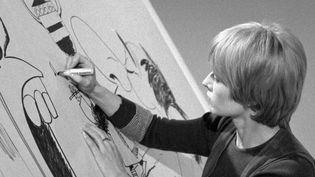 La dessinatrice Claire Bretécher, connue pour ses personnages des Frustrées et d'Agrippine est morte à l'âge de 79 ans. (France 2)