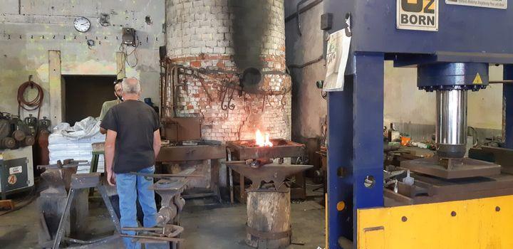 L'intérieur de l'ancienne laiterie àMazeau en Vendée. (ANNE CHEPEAU / RADIO FRANCE)