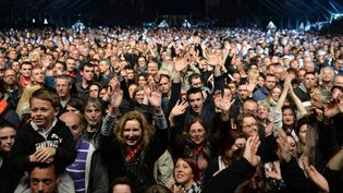 Le public du Printemps de Bourges, en avril 2017  (Guillaume Souvant / AFP)