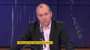 Laurent Berger, le 27 novembre 2020. (FRANCEINFO / RADIO FRANCE)