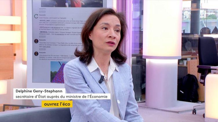 Delphine Geny-Stephann, Secrétaire d'État auprès du ministre de l'Économie : « Nous aplanissons les obstacles qui peuvent refréner les embauches dans les entreprises » (FRANCEINFO)