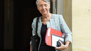 La ministre du Travail, Elisabeth Borne, le 17 juillet 2020, à Paris. (BERTRAND GUAY / AFP)