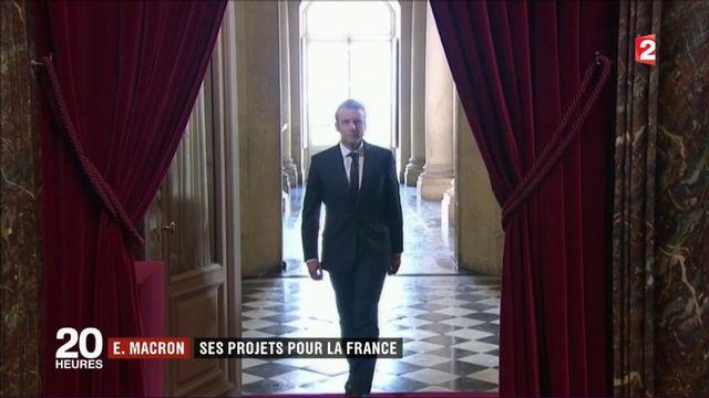 Congrès de Versailles : Macron présente les grands axes de son quinquennat