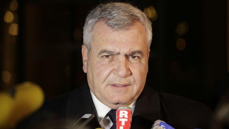 Thierry Herzog, avocat de Nicolas Sarkozy (GEOFFROY VAN DER HASSELT / AFP)