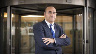 Laurent Nunez, le nouveau patron de la DGSI, la direction générale de la sécurité intérieure en France, 8 septembre 2017, à Levallois-Perret (Hauts-de-Seine). (LIONEL BONAVENTURE / AFP)