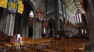 La cathédrale Sainte-Croix d'Orléans (Loiret), le 29 août 2015. (MAXPPP)