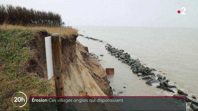 Angleterre : l'érosion fait disparaître des villages